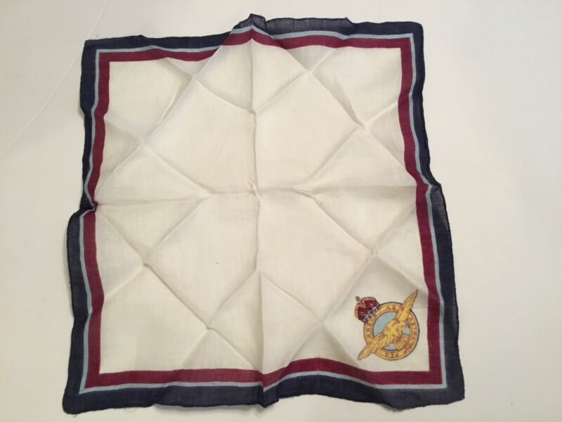 WWII British Sweetheart Souvenir Handkerchief