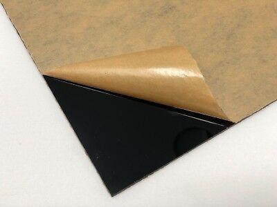 Acrylic Black Plexiglass .125 - 18 X 12 X 24 Plastic Sheet