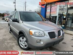 2008 Pontiac Montana SV6 AUTO LOANS FOR ALL CREDIT SITAUTIONS