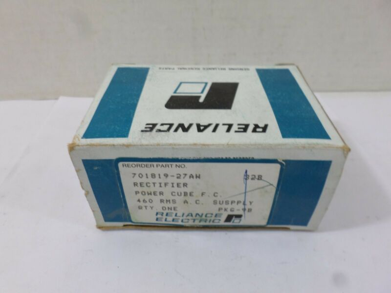 New Surplus Reliance Rectifier Power Cube 701819-27AW