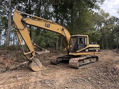 1994 -caterpillar 320 Excavator Trackhoe Cat 320l New Engine No Leaks