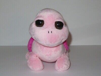 Aurora Pink Turtle Plush Dreamy Eyes 10