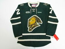 ROBERT THOMAS OHL LONDON KNIGHTS GREEN CCM PREMIER 7185 HOCKEY JERSEY