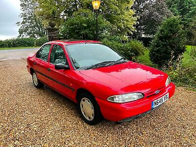 1995 Ford Mondeo 1.8i LX 4dr very rare classic ford 1 owner 23k SALOON Petrol Ma