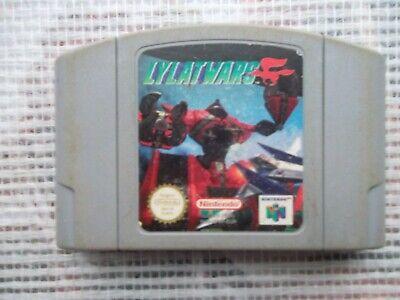 Jeu Nintendo 64 / N64 Game Lylat Wars PAL retrogaming  genuine original *