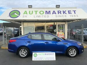 2013 Kia Optima LX AT BLUETOOTH! YOU WORK/YOU DRIVE!