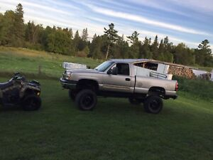 Lifted 2003 Chevrolet Silverado 1500
