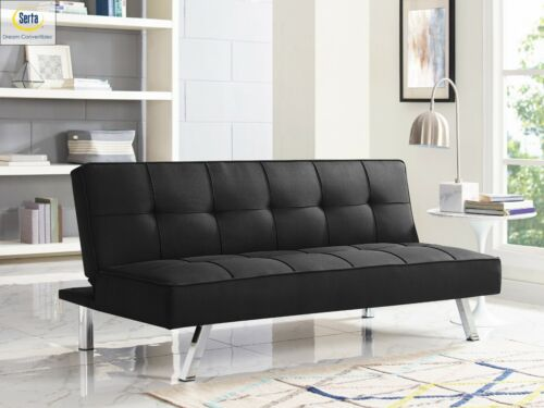 Sleeper Sofa Bed Convertible Couch Modern Living Room Futon Loveseat