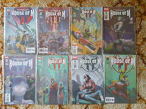 House of M - Complete Marvel Comics lot of 8 issues Kelmscott Armadale Area Preview