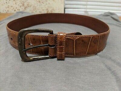 Ralph Lauren Genuine American Alligator Belt