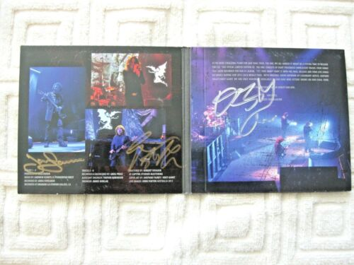 Black Sabbath The End CD Autographed Signed Geezer Butler Tony Iommi Ozzy