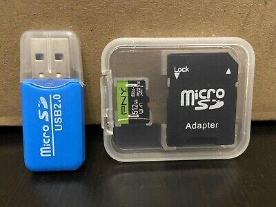 PNY MicroSD 512GB Speicherkarte inkl. USB und SD Adapter