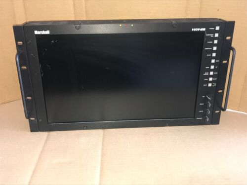 """Marshall V-R171P-AFHD 17"""" LCD Studio Video Monitor Rackmount - SCRATCHED Screen"""