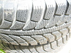 CHAMPIRO ICE PRO GT studdable winter tires. lots of tread!
