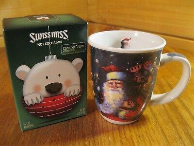 Santa Claus And Miss Claus (Christmas Holiday Swiss Miss Hot Cocoa and Mug Gift)