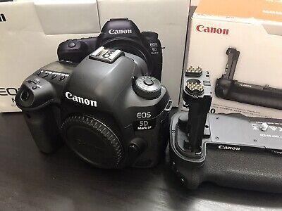 Canon 5D Mark IV W/ Battery Grip