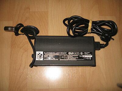 Ladegerät, E Bike, 24 Volt, Lüfter, 3 Pin Stecker, Scooter, Elektroroller