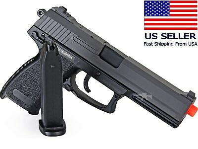 AIRSOFT Spring Pistol Hand Gun USP Style Full Size Heavy Government .45 w/BB