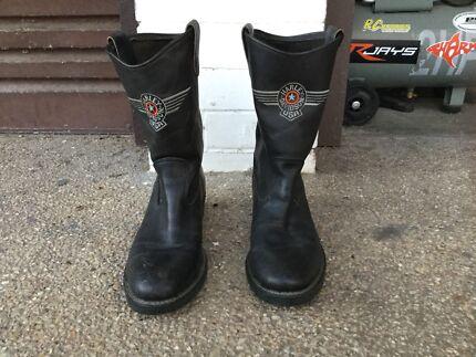 Harley Davidson boots size 10