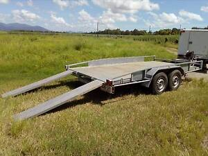 CAR TRAILER HEAVY DUTY REGO & ROADWORTHY INCLUDED Cairns Cairns City Preview