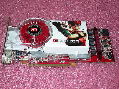 Ati Radeon X1800xt 512Mb Ddr3 Pci Express  Pcie  Dvi Video Card W Dual Vhdci New