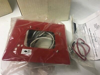 Edwards Est 6296b-100 Manual Pull Station Transponder Module Red New