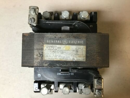 General Electric GE CR305E0** Size 3 Motor Starter With 120 Volt Coil