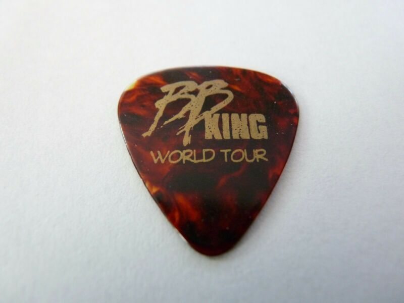 BB King King Of The Blues Music Tortois Signature World Tour Guitar Pick Lucille
