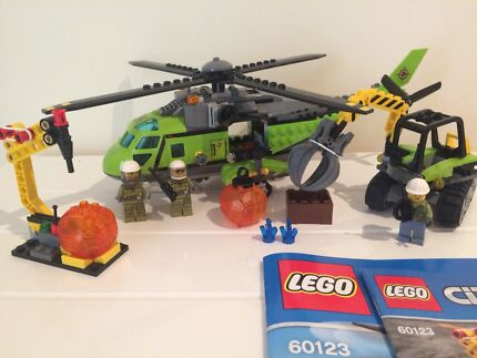 LEGO City- Volcano Supply Helicopter 60123