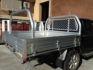 Nissan Navara D22 Aluminium Dual Cab Tray 1880L x 1855W x 880H