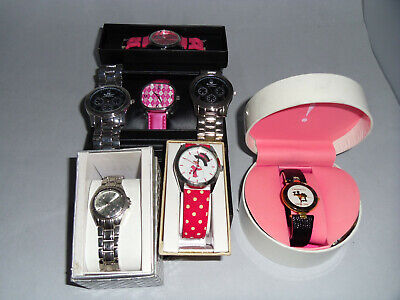 LOT of 7 NEW WATCHES WOMEN'S and MEN'S