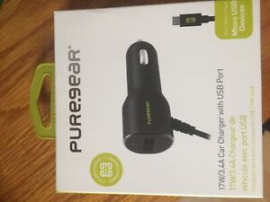 Pure gear car charger (micro USB)