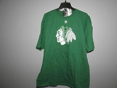 Hockey Blackhawks (NHL Chicago Blackhawks #2 KEITH St Patrick's Day Hockey Shirt New Mens)
