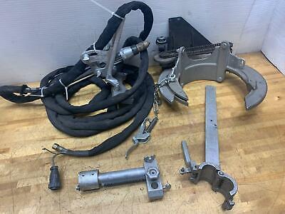 Mathey 1sa Manual Saddle Pipe Beveling Machine 3-8 Capacity Wtorch Dearman