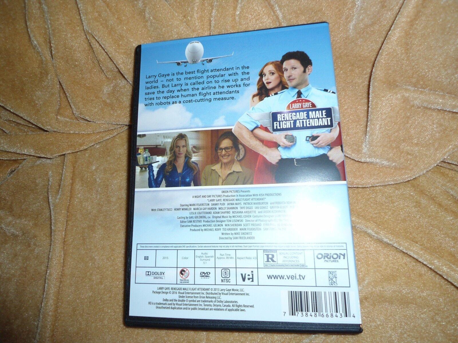 Larry Gaye Renegade Flight Attendant 2015 1 Disc DVD  - $15.99