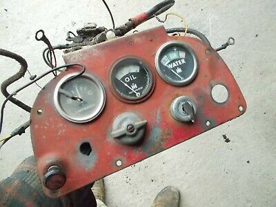 Farmall 400 Ih Rc Tractor Original Dash Panel Gauges Wire Harness Cable Switch