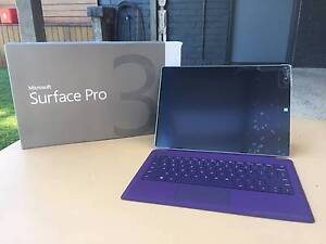 Microsoft Surface Pro 3 i5 128GB with Type Cover Mouse & Charger! Werribee Wyndham Area Preview