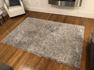 Silver/Gray Rug - in excellent condition
