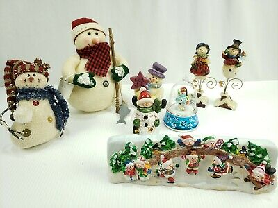 Snowman Christmas Decorations (Snowman Christmas Decorations Lot of 8 See)