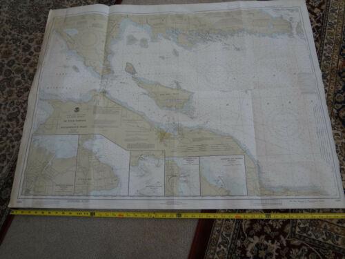 NOAA chart Lake Huron MI Detour Village to Waugoshance Point