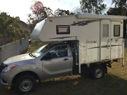 Mazda BT50 2015 with Slide-on.or just slide-on Ipswich Ipswich City Preview
