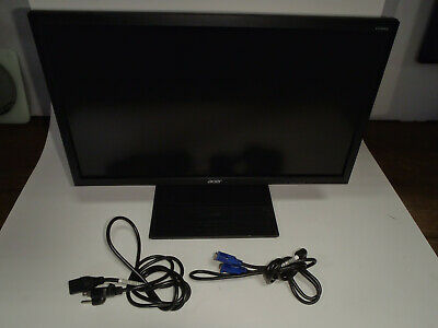 "Acer H226HQL 22"" LED Display HD Monitor With VGA Cable Power Cord"