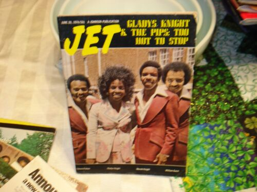 Jet Magazine June 20, 1974 Gladys Knight And The Pips