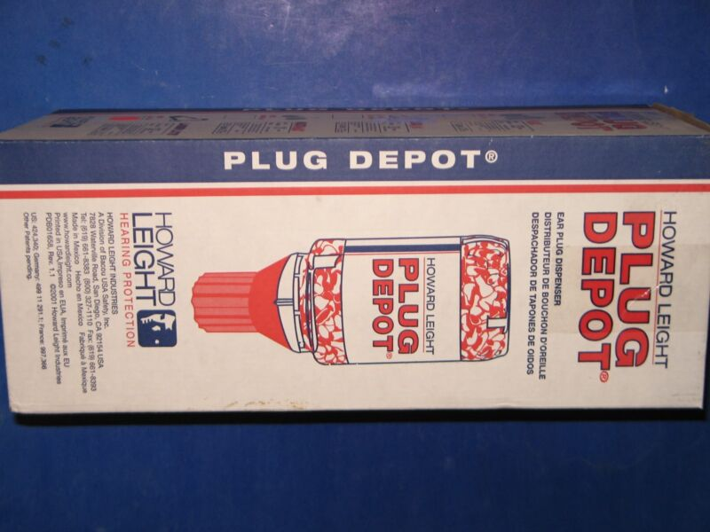 HOWARD  LEIGHT  PLUG  DEPOT  EAR  PLUG  DISPENSER,  32DB  W/O CORD 450X  LL-PD-4