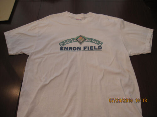 NEW-VERY RARE--ENRON FIELD Shirt--White--XLarge