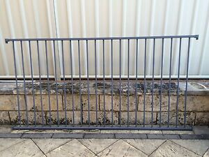 Flat top pool fence and gates, colour - Deep Ocean Cordeaux Heights Wollongong Area Preview