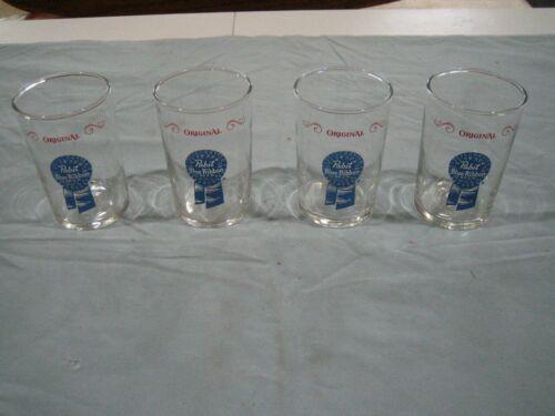 Pabst blue Ribbon Beer Glasses