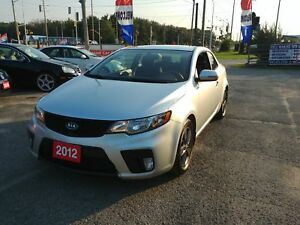 2012 Kia Forte Koup EX !!CERTIFIED!!FINANCING!!WARRANTY AVAILABL