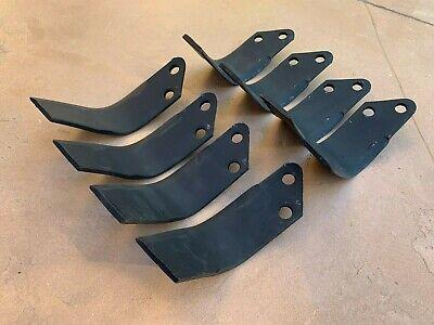 8 Pcs King Kutter Tiller Blades Tines 505002 Rh Lh For Tg Tg-g Tiller 505006