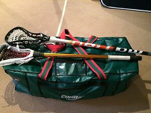 Complete Set of lacrosse equpiment